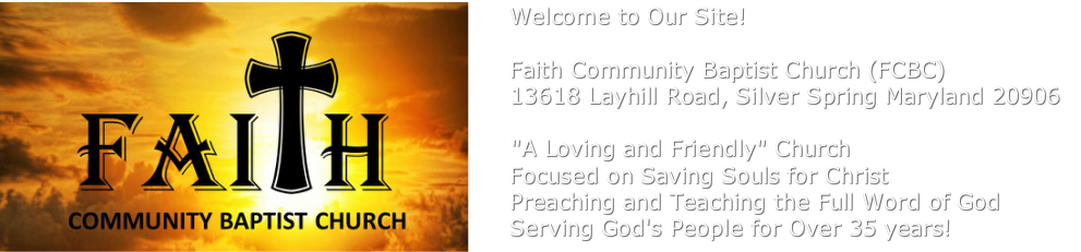 Faith Community Baptist Church (FCBC)